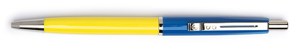 Export Pen Multi-Color Blauw & Geel