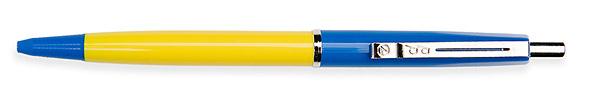 Budget Pen Blauw & Geel