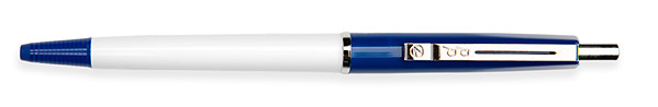 Budget Pen Donkerblauw & Wit