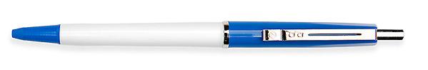 Budget Pen Blauw & Wit